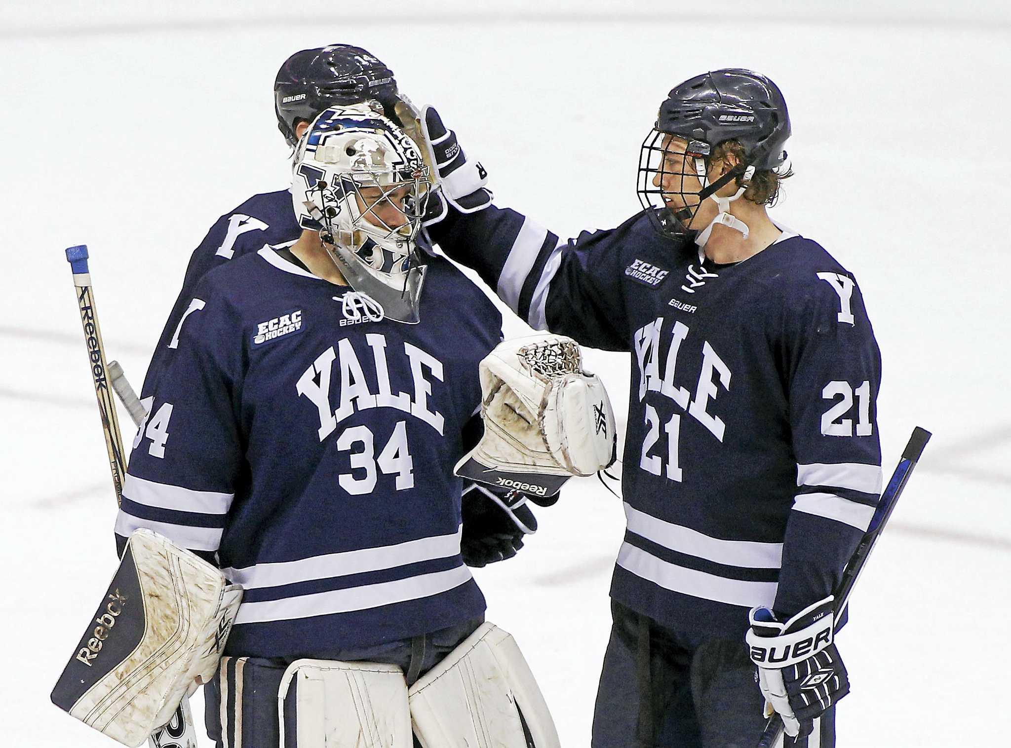 wholesale dealer dfd4d e4b7c Tough schedule awaits Yale men's ice hockey team - New Haven ...