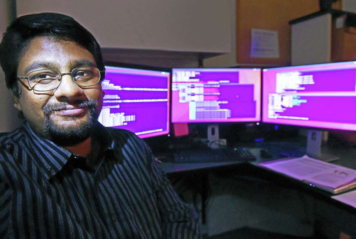 Mohammed Tarik Islam, an assistant professor of computer science at Southern Connecticut State University.