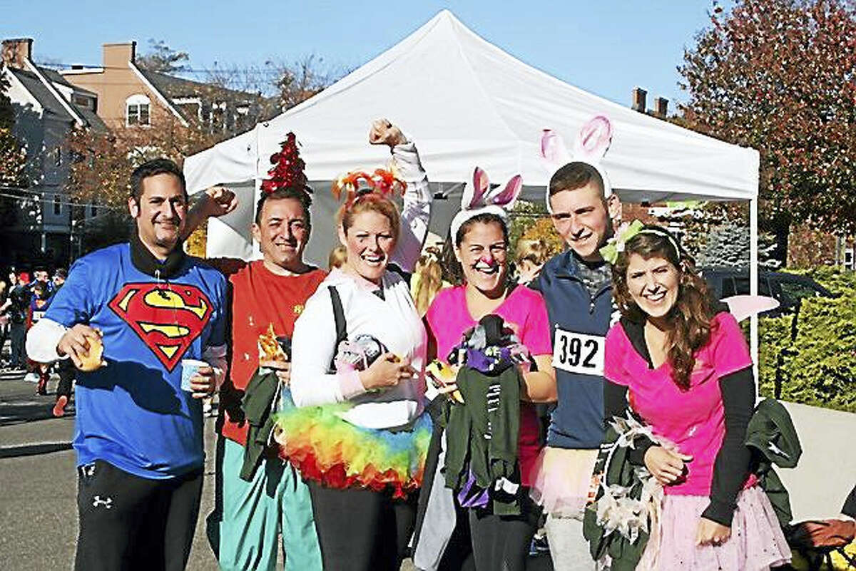 Participants in last year's annual Trick or Trot 5K Run/Walk had a lot of fun dressing up and running to raise money for the homeless and hungry.