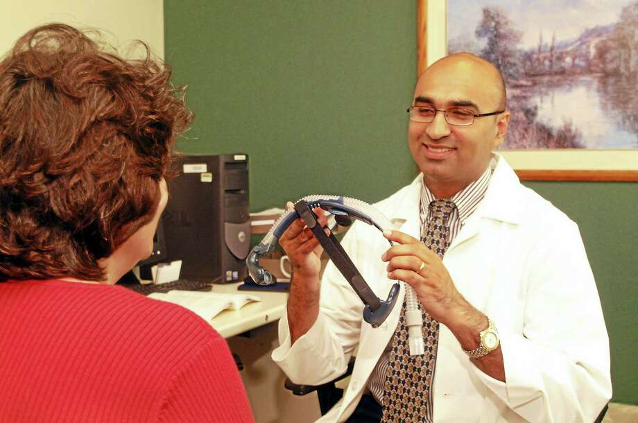 Dr. Asher Qureshi, director of the Sleep Disorders Center at Saint Francis Hospital and Medical Center. Photo: Conn. Health I-Team