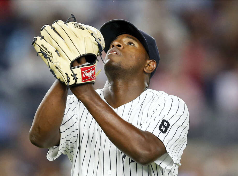 Luis Severino will return to the Yankees starting rotation on Tuesday against the Red Sox. Photo: Kathy Willens — The Associated Press   / Copyright 2016 The Associated Press. All rights reserved. This material may not be published, broadcast, rewritten or redistribu