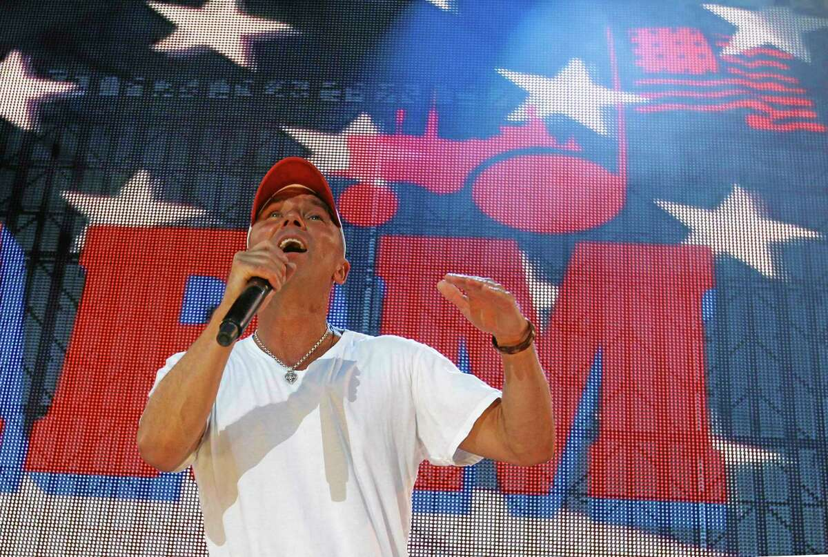Kenny Chesney performs during the Farm Aid 2012 concert at Hersheypark Stadium in Hershey, Pa. on Sept. 22, 2012.