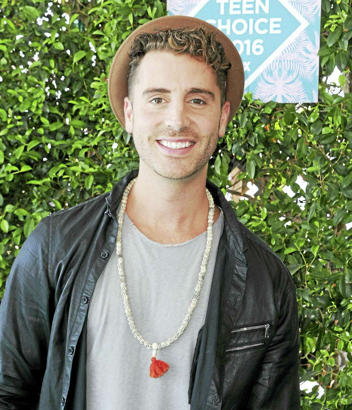 Nick Fradiani arrives at the Teen Choice Awards in July.