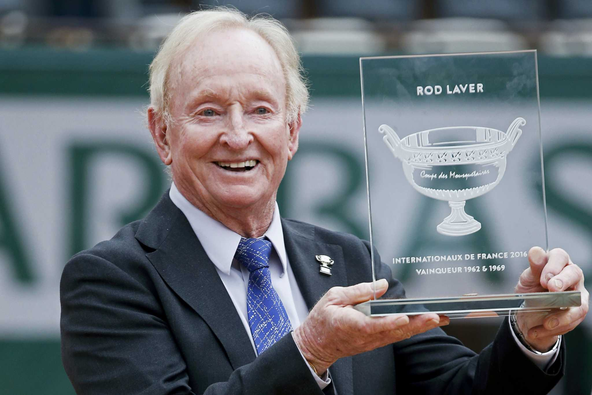 Rod Laver thought Novak Djokovic could be the guy to win Grand