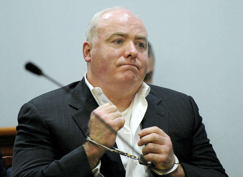 In this file photo, Michael Skakel listens to Judge Trial Referee Thomas Bishop's ruling during a hearing in Rockville Superior Court in Vernon, Conn., to determine if he could be released while awaiting a new trial in the 1975 slaying of neighbor Martha Moxley. Photo: Fred Beckham — The Associated Press File   / Pool, AP FR153656