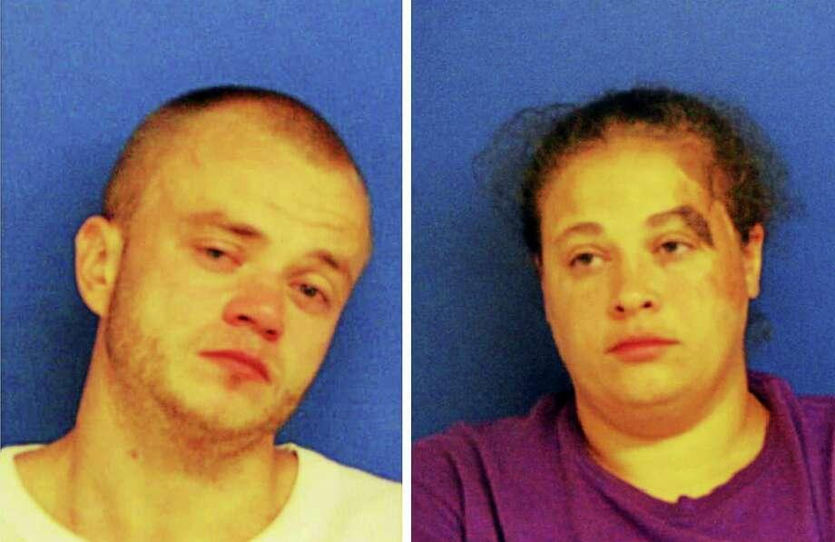 Jonathan Perdue and Tanya La Kierce Photo: Courtesy East Haven Police