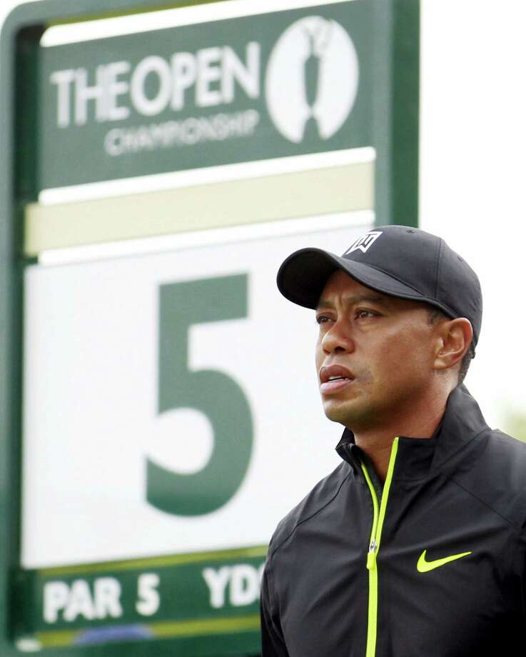 Tiger Woods has withdrawn from the British Open at Royal Troon. Photo: The Associated Press File Photo   / AP
