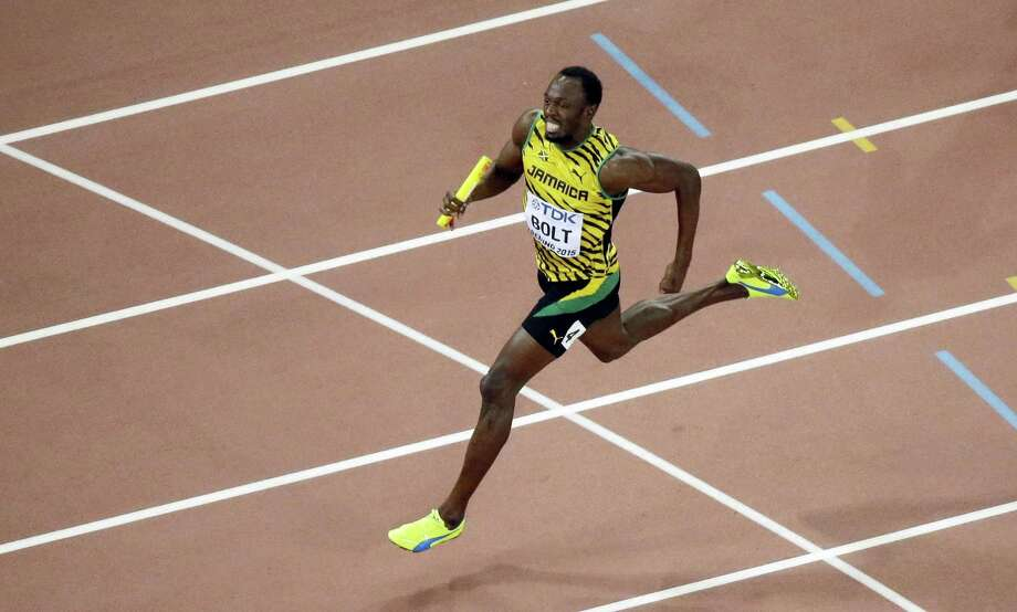 Jamaica's Usain Bolt. Photo: The Associated Press File Photo   / Copyright 2016 The Associated Press. All rights reserved. This material may not be published, broadcast, rewritten or redistribu