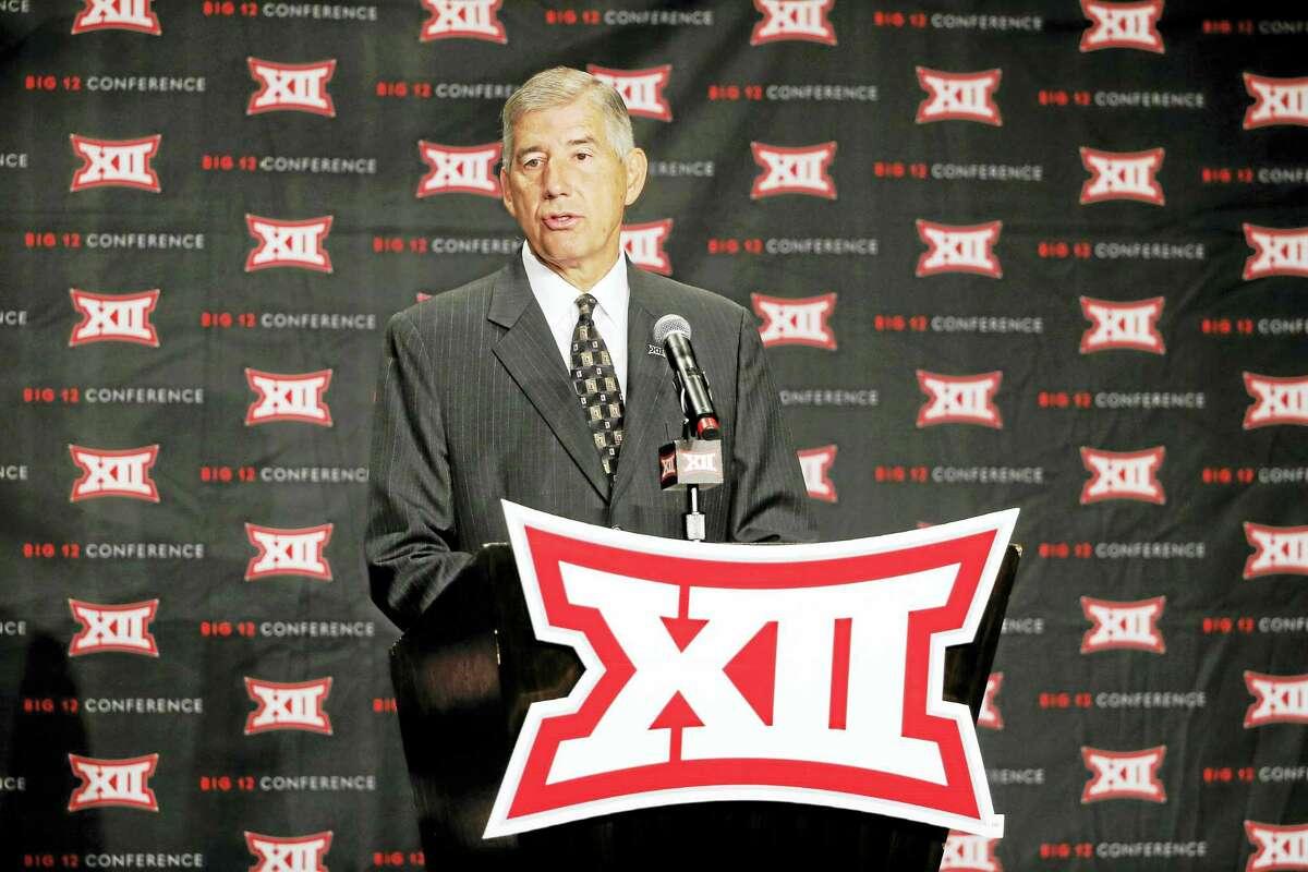 Big 12 commissioner Bob Bowlsby.