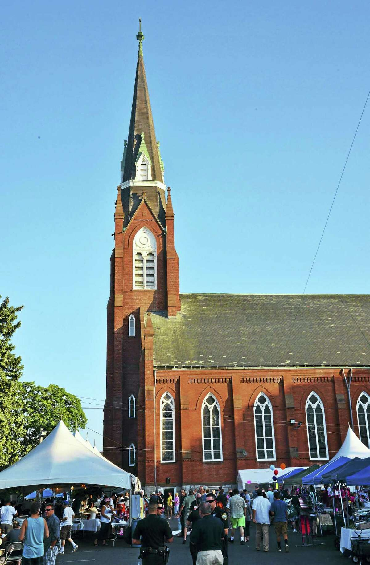 The 2015 Summer Festival at St. Mary's Church in Derby.