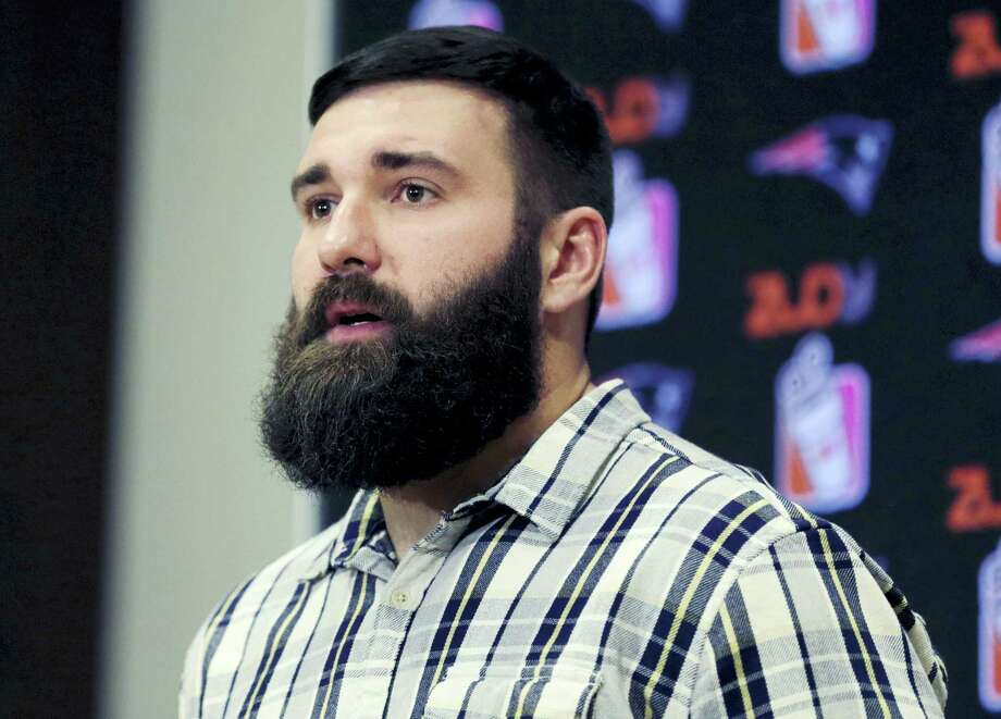 New England Patriots defensive end Rob Ninkovich has been suspended for the first four games of the regular season for violating the NFL's policy on performance enhancing substances. Photo: The Associated Press File Photo   / Copyright 2016 The Associated Press. All rights reserved.