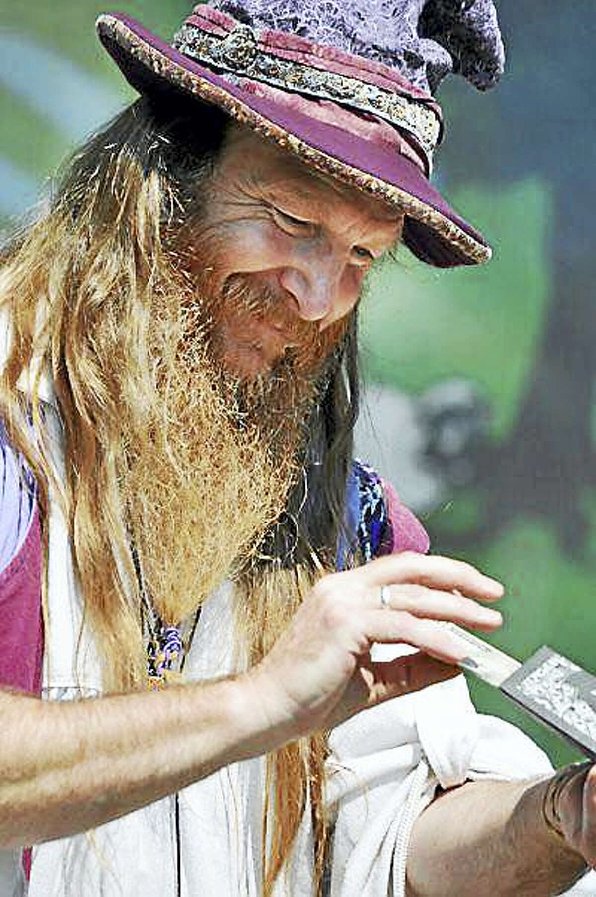 Courtesy Haddam Neck Fair Association Ed the Wizard works his magic at the show.