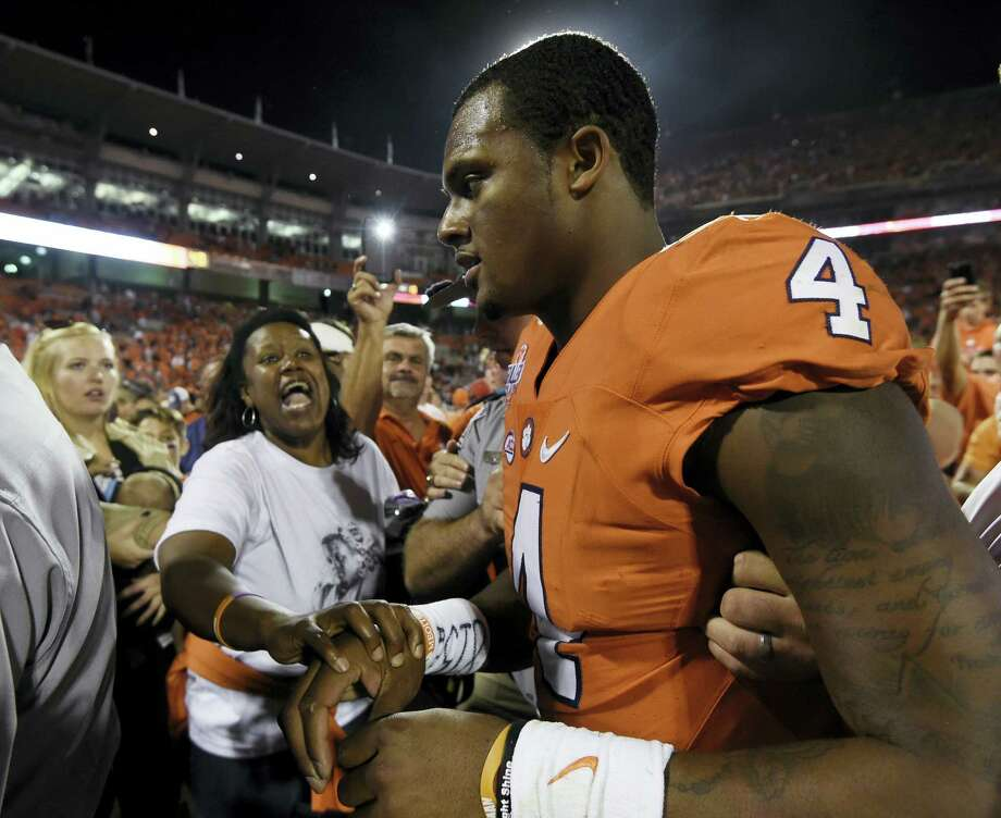 Clemson quarterback Deshaun Watson. Photo: The Associated Press    / FR155191 AP