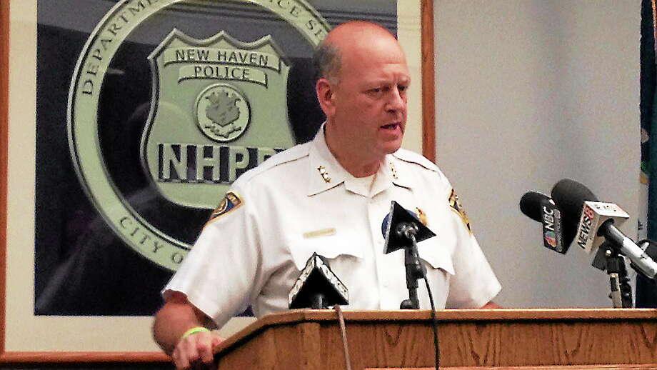New Haven Police Chief Dean Esserman Photo: Journal Register Co.