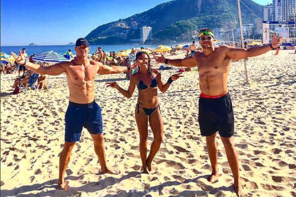 Brian Peters took a trip with his teammate Brennan Scarlett to Rio de Janeiro, Brazil.