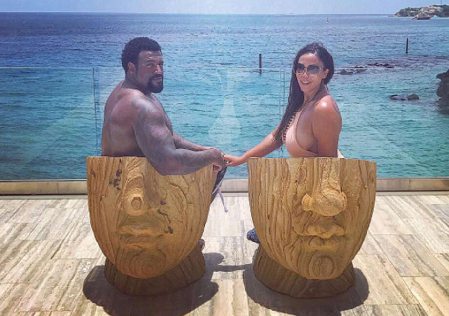 PHOTOS: How Houston Texans players spent their offseasonDuane Brown and wife Devi vacationing in the British West Indies this offseason.Browse through the gallery above for a look at some of the Houston Texans' vacation photos from the offseason. Photo: Instagram