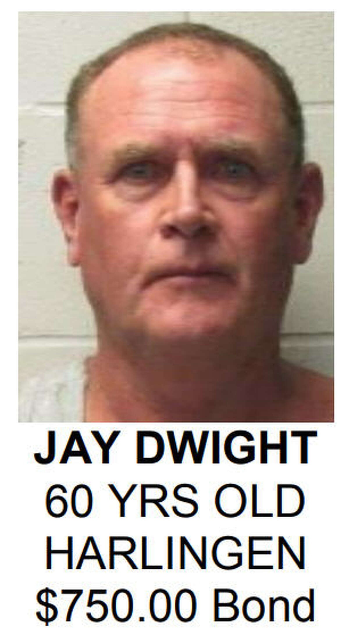 Jay Dwight was one of 167 people arrested by Harlingen (Texas) Police in a large scale sex trade sting July 21-22, 2017.