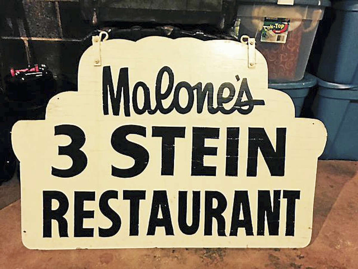 This classic New Haven sign is being offered to its rightful owner, whoever that may be.