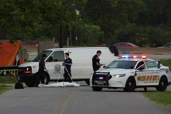 A woman was hit and dragged to her death in northeast Harris County Monday, July 24, 2017, in Houston. She was dragged more than 600 feet according to ABC-13 reports and was found on Northington Drive between the EastTex Freeway feeder and Hillside Drive. The feeder road has been shut down both ways.