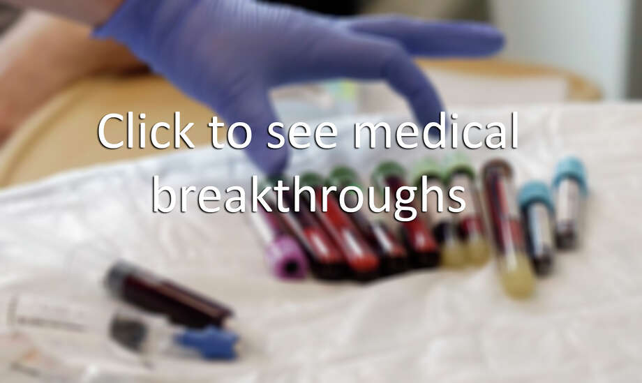 Click to see medical breakthroughs. / Copyright 2017 The Associated Press. All rights reserved.