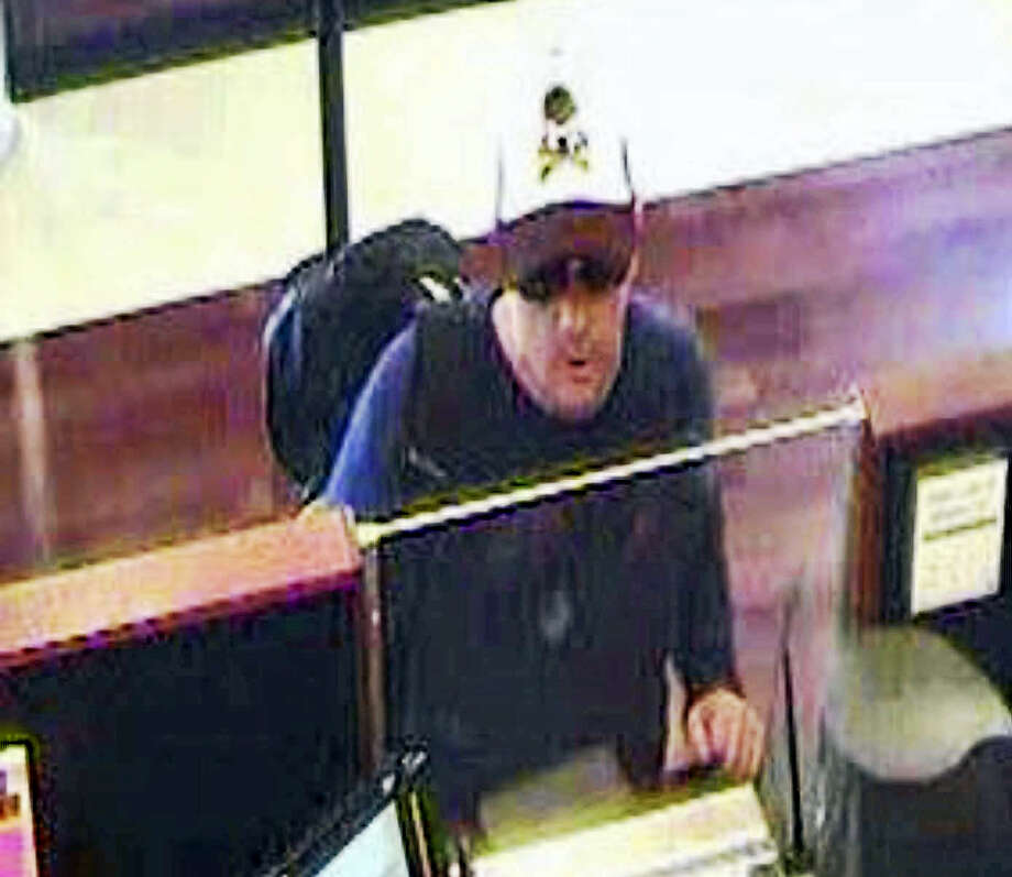 Milford police are looking for this robbery suspect. Photo: Courtesy Milford Police