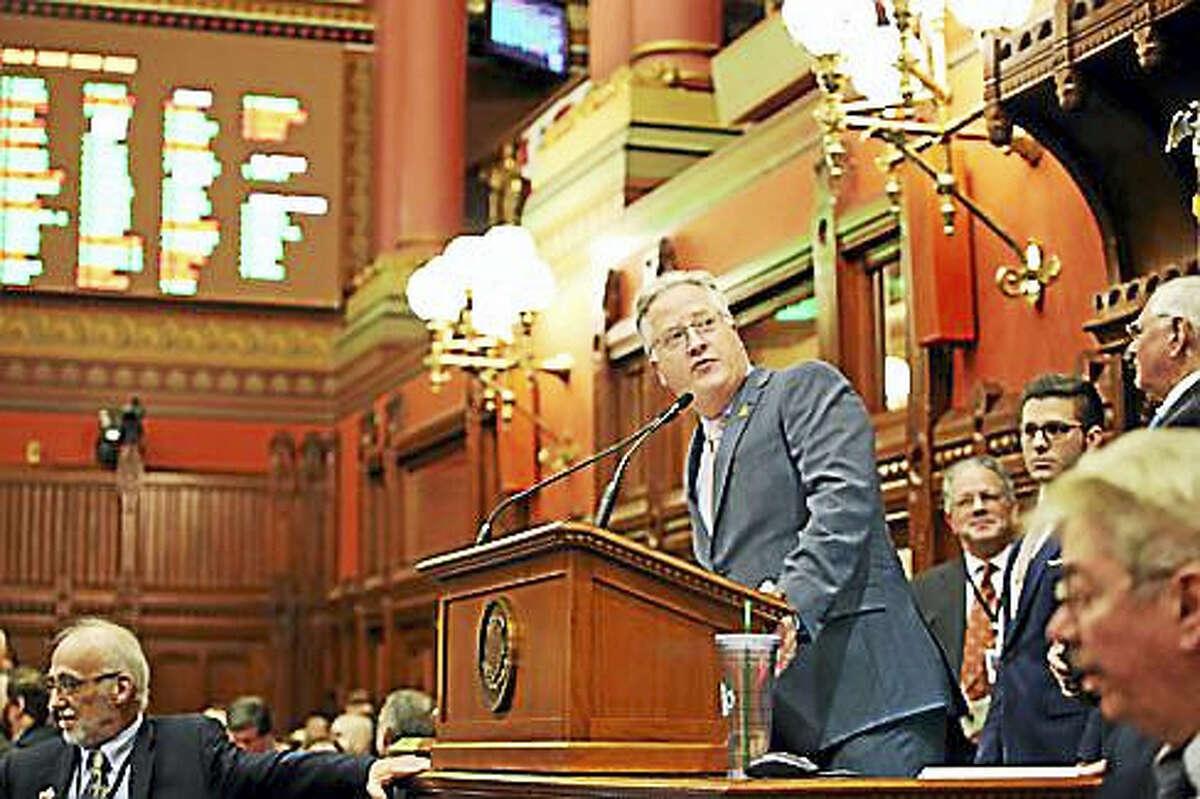 House Speaker Brendan Sharkey, D-Hamden