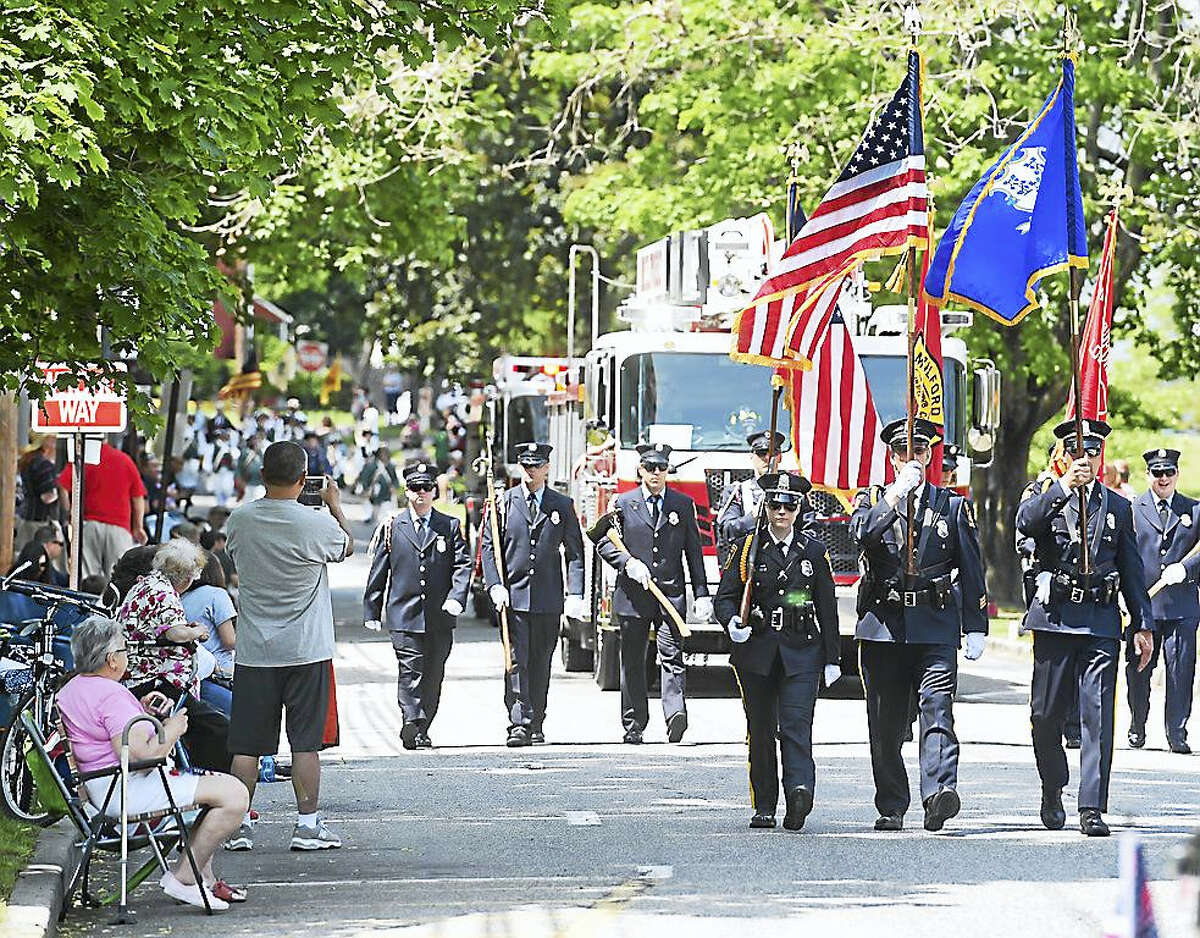 Scenes from the Milford Memorial Day Parade on Sunday
