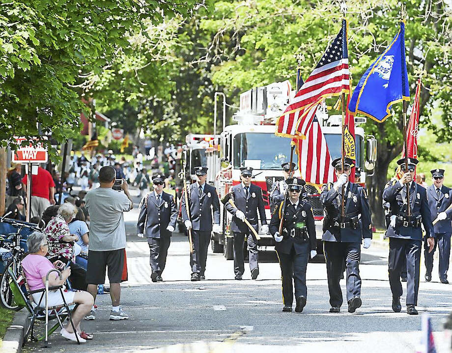 Scenes from the Milford Memorial Day Parade on Sunday Photo: Arnold Gold/New Haven Register