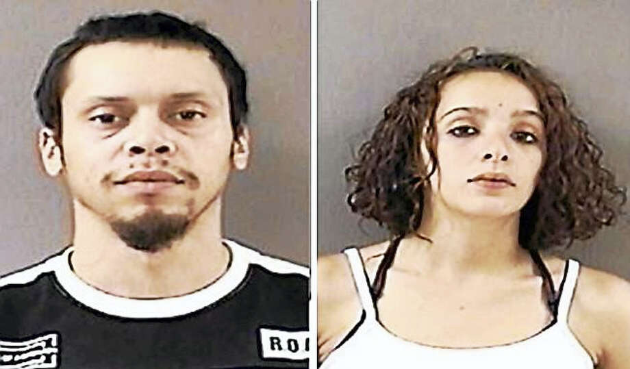 Aaron Rivera and Asia Gonzalez Photo: Courtesy Of Wallingford Police Department