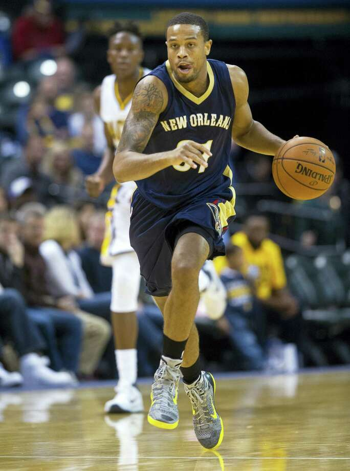 The Pelicans' Bryce Dejean-Jones was fatally shot after breaking down the door to a Dallas apartment on Saturday. Photo: The Associated Press File Photo   / FR170771 AP