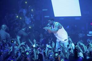 Drake Performs at Spire Houston to end Houston Appreciation Weekend on Sunday, July 23, 2017 in Downtown Houston