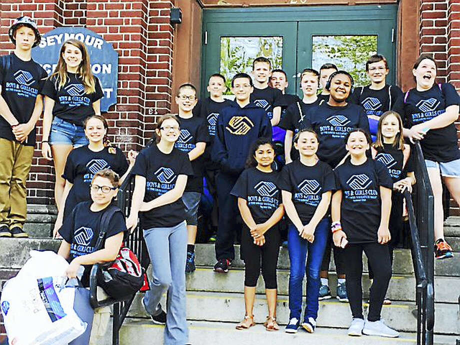 Members of the Torch Club Photo: Photo - Seymour Unit Of The Boys And Girls Club Of The Lower Naugatuck Valley