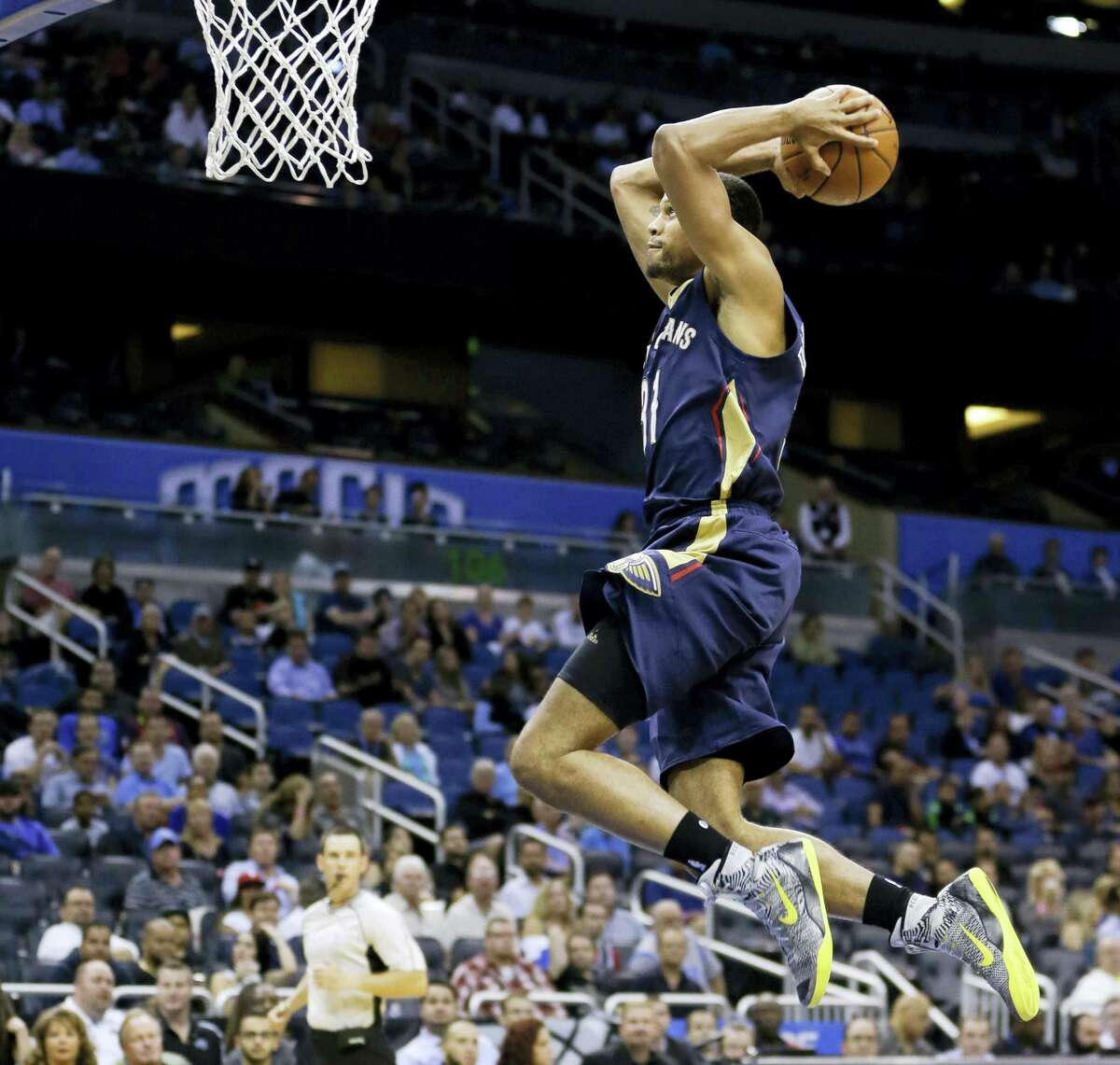 New Orleans Pelicans' Bryce Dejean-Jones was fatally shot after breaking down the door to a Dallas apartment on Saturday.