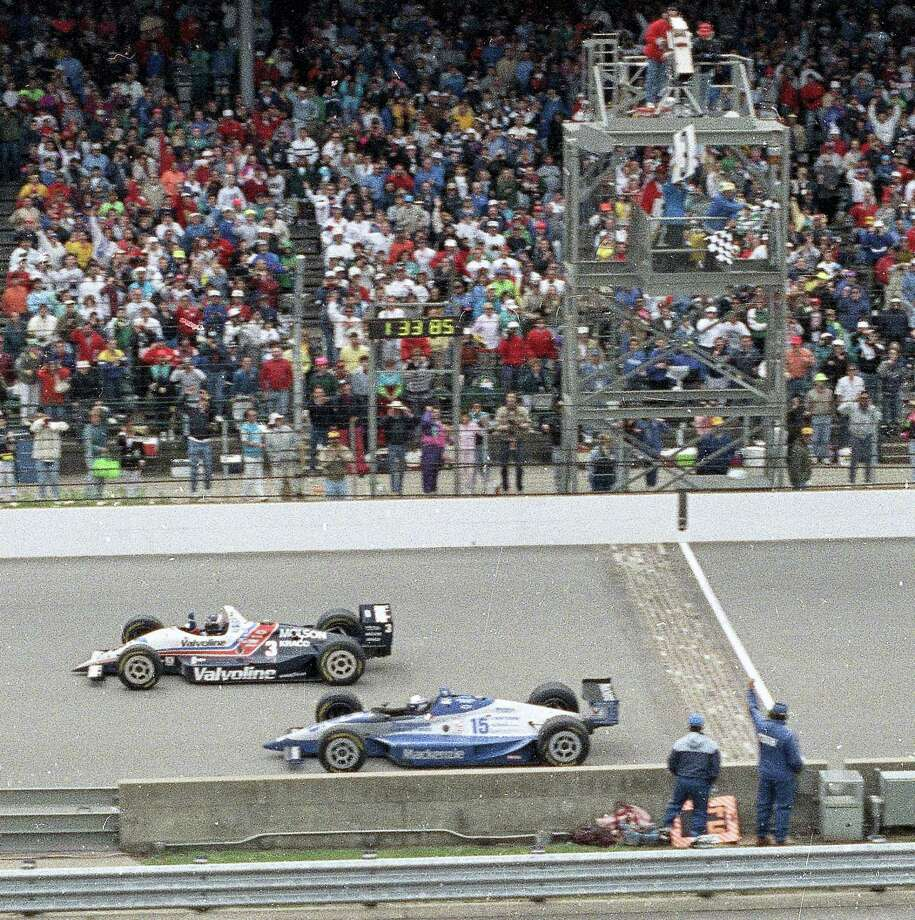 In a survey of the 27 living winners of the Indy 500, The Associated Press found the 1992 race won by Al Unser Jr. to be the greatest in history. Photo: The Associated Press File Photo   / AP1992