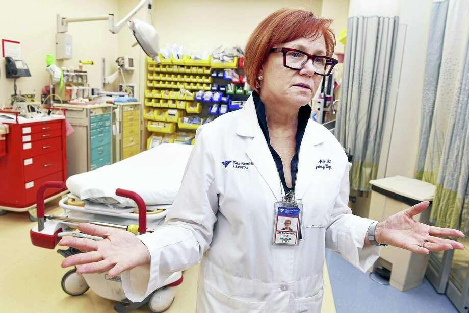 Yale-New Haven Hospital ER responds to flood of overdose