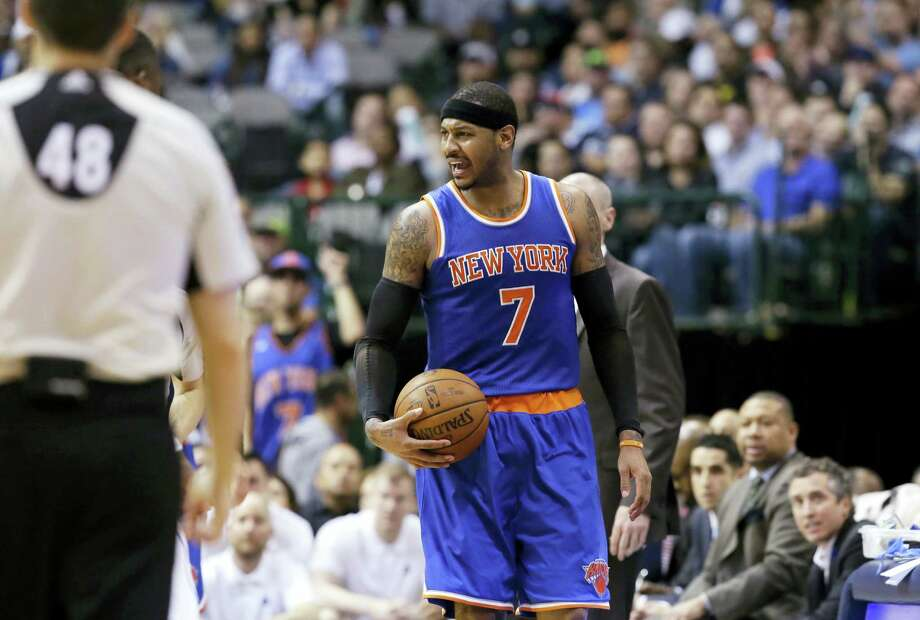 Carmelo Anthony can become the most decorated Olympian in men's basketball history. Photo: LM Otero — The Associated Press   / Copyright 2016 The Associated Press. All rights reserved. This material may not be published, broadcast, rewritten or redistribu