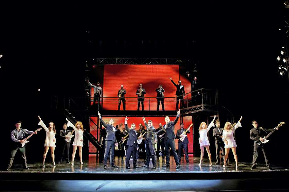 "The finale of ""Jersey Boys."" Photo: Contributed"