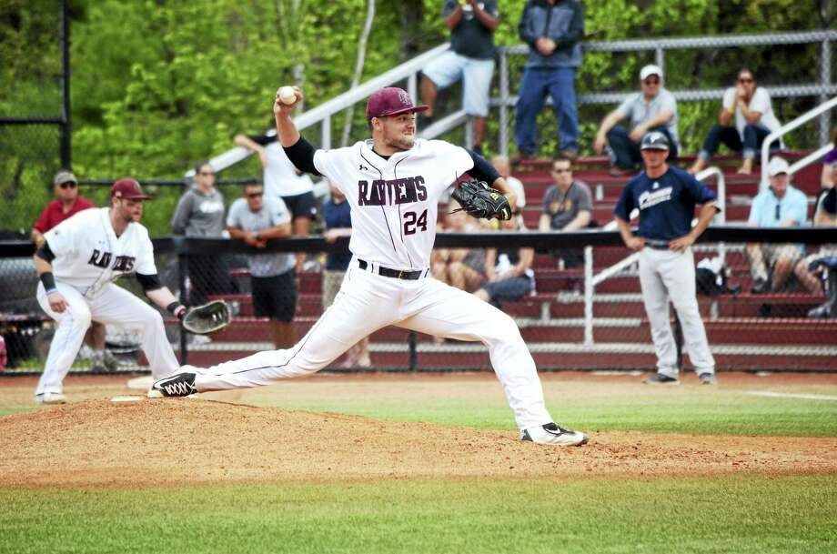 Wallingford's John Amendola, a former Notre Dame-West Haven High standout, has helped lead Franklin Pierce to the NCAA Division II College World Series. Photo: Photo Courtesy Of Franklin Pierce   / Daniel R. Forget