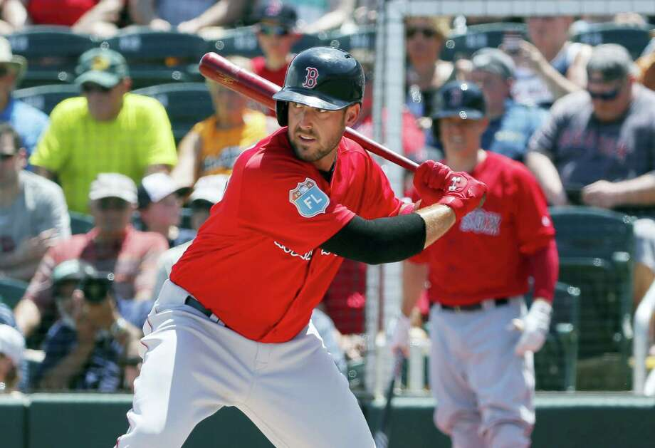 Boston's Travis Shaw has been named the starting third baseman for the Red Sox. Photo: The Associated Press   / AP