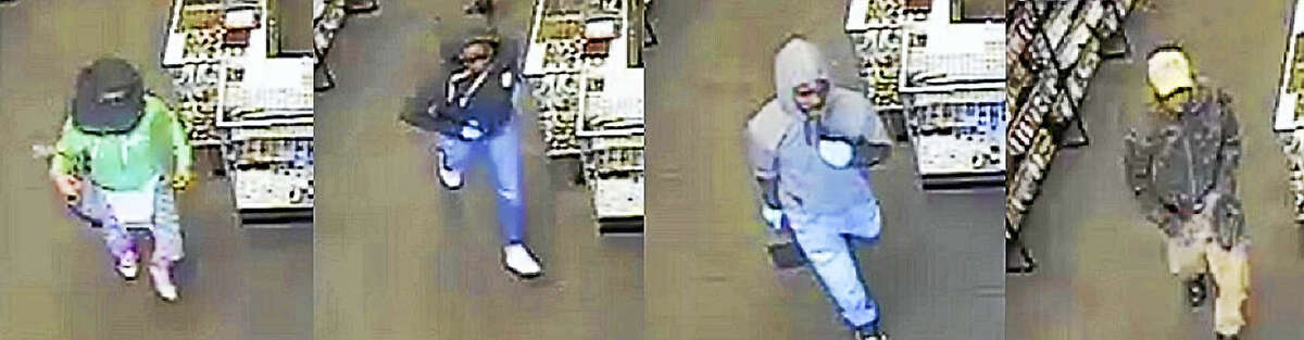 Hamden police seek four suspects in connection with an armed robbery, Wednesday, April 27, 2016, at Game X Change, 2165 Dixwell Ave.