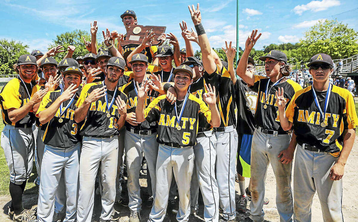 The Amity Spartans baseball team finished last season with a 21-7 record and their third straight state championship. They start the 2016 season as the top-ranked squad in the state.