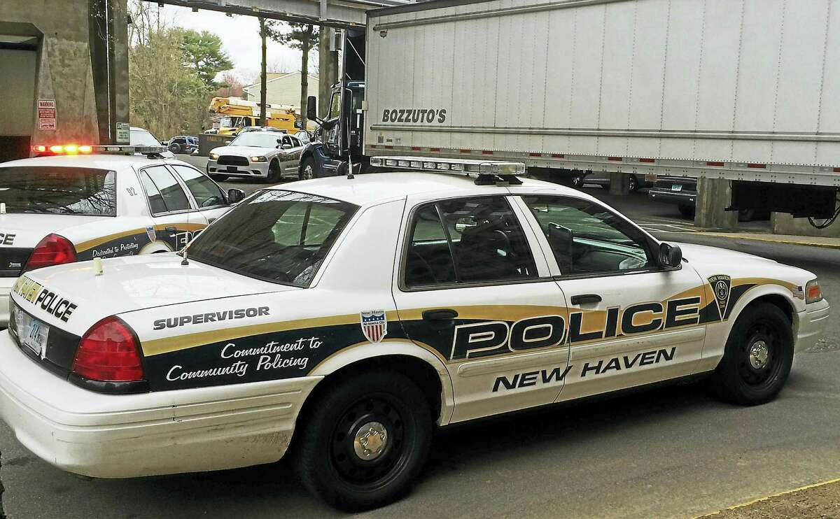 New Haven police are investigating after a woman was hit by a tractor-trailer Thursday morning at the Bella Vista Apartments in New Haven. She suffered non-life-threatening injuries.