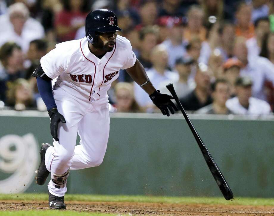 Jackie Bradley Jr. and the Red Sox couldn't solve Chicago's Chris Sale Tuesday night. Photo: Charles Krupa - The Associated Press   / AP