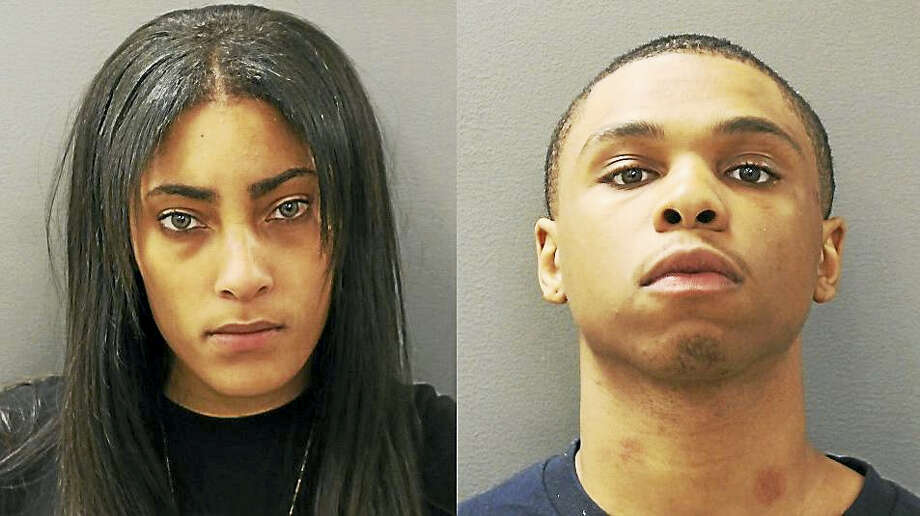 Taneya Howard-Gravely and Kahleel Carmon Photo: Courtesy Of Hamden Police Department