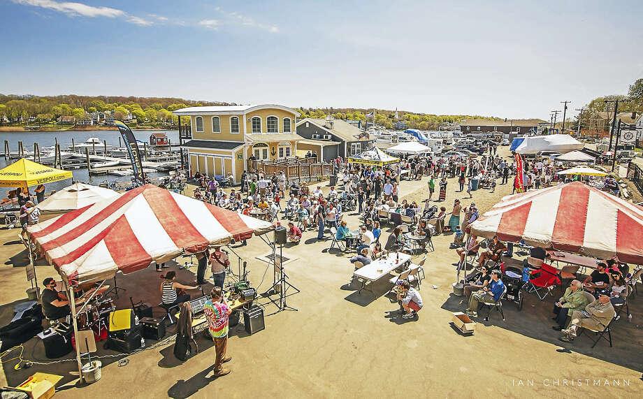 An overview of last year's Quinnipiac Riverfest. Photo: Photo Courtesy Of Ian Christmann   / photo by  Ian Christmann