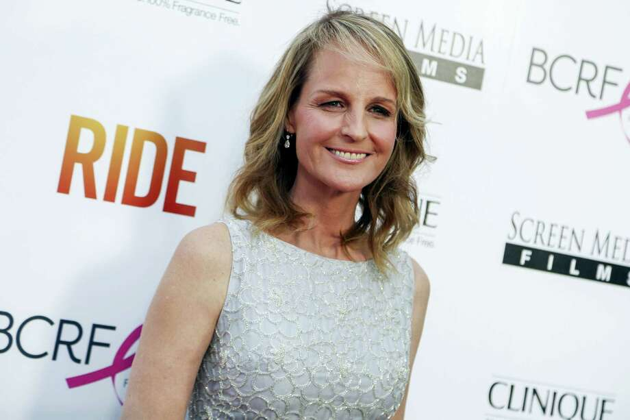 """In this Tuesday, April 28, 2015, file photo, Helen Hunt arrives at the LA Premiere of """"Ride"""" at The Arclight Hollywood Theater in Los Angeles. In a Twitter post on May 23, 2016, Hunt wrote that she was mistaken for fellow actress Jodie Foster at a Starbucks. Photo: Photo By Rich Fury/Invision/AP, File    / Invision"""