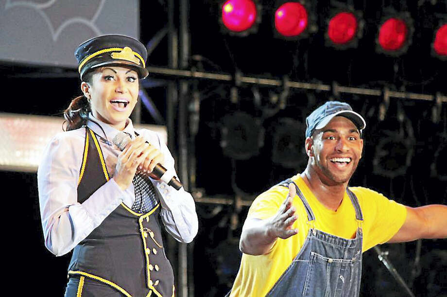 "Genevieve Goings, the host of Disney Junior's ""Choo Choo Soul,"" will have a special performance for people on autism spectrum at the Bushnell Center for the Performing Arts in Hartford on Saturday. Photo: Contributed Photo"