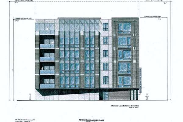 A new six-story condominium complex is planned for the River Oaks area.
