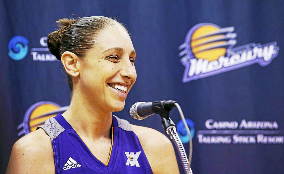 Expect to see former UConn star Diana Taurasi on the list when the WNBA announces its list of the league's best 20 players of its first 20 seasons. Photo: The Associated Press File Photo   / Copyright 2016 The Associated Press. All rights reserved. This material may not be published, broadcast, rewritten or redistribu