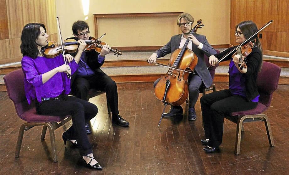 The Haven Quartet in concert. Photo: Photo Courtesy Of Kathleen Cei — Music Haven